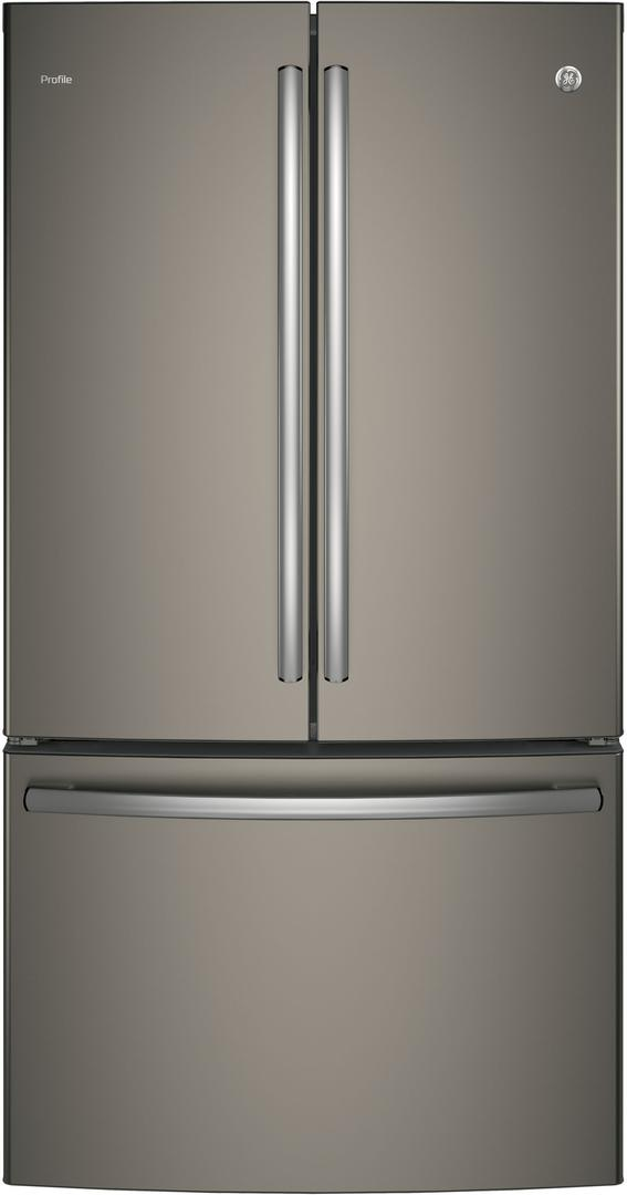 PWE23KMKES 36 Energy Star Counter Depth French Door Refrigerator with 23.1 cu....