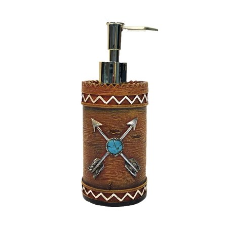 AR Country Store Crossed Arrows Lotion Pump - Soap Dispense Bottle ()