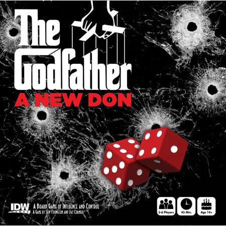 The Godfather  A New Don Board Game By Idw Games