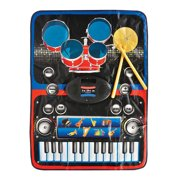 Large Working Electronic Play Mat Keyboard Drum Set Melody Synthesizer