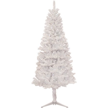 Pre Lit 6 5 White Tacoma Artificial Christmas Tree 250 Clear Lights