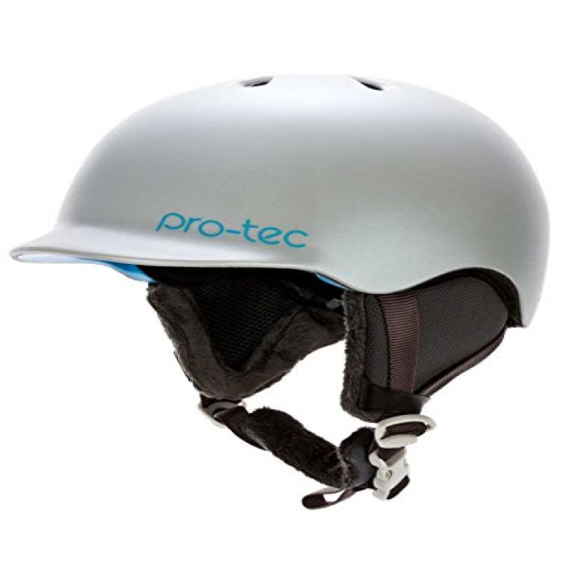 Pro-tec Scandal Snow Helmet, Pearl White, Large by