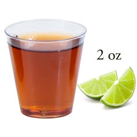 2 Oz Ceramic Sculpted Shot (2 oz Crystal Clear Shot Cups (100)