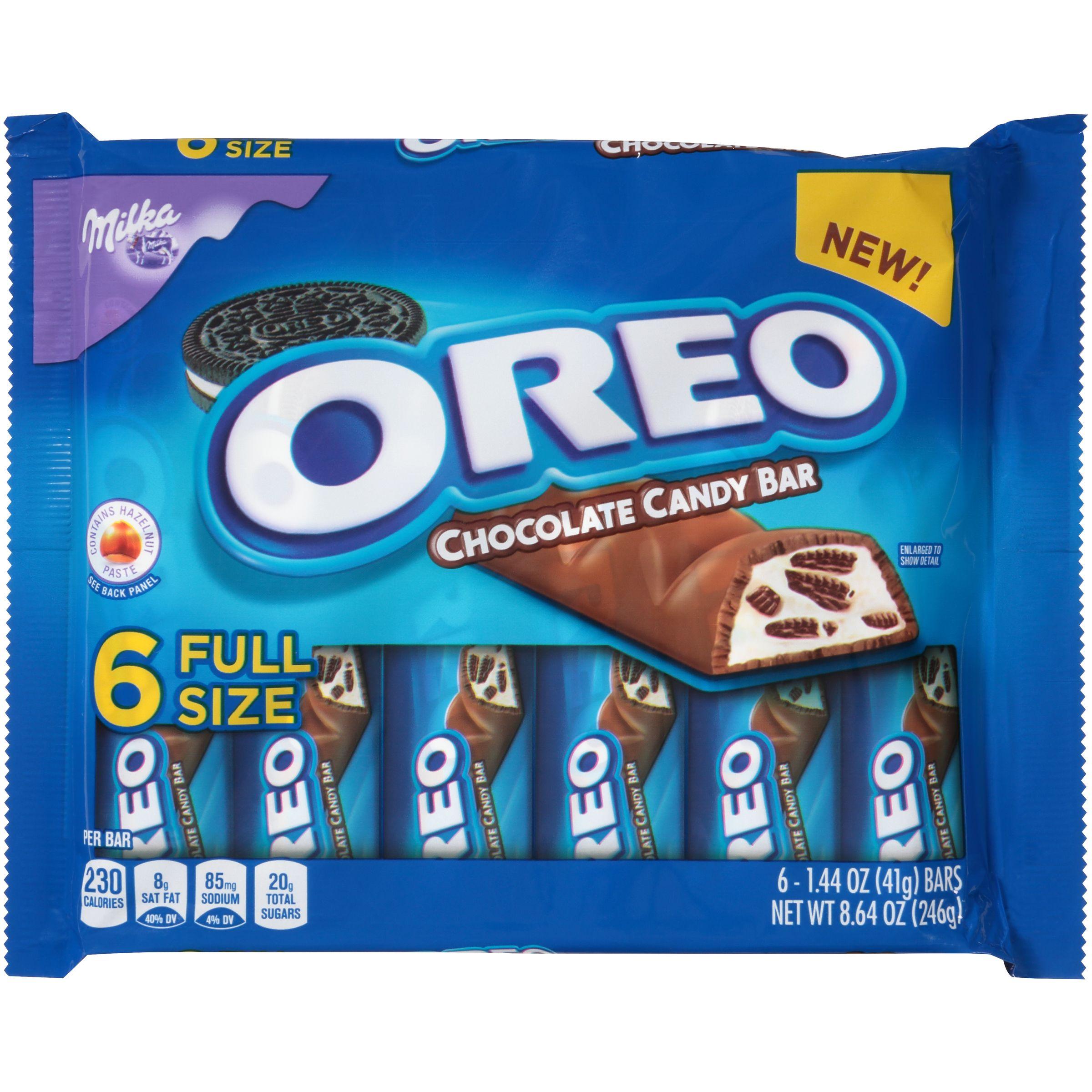 Milka Oreo Chocolate Bars - 8.64oz/6ct