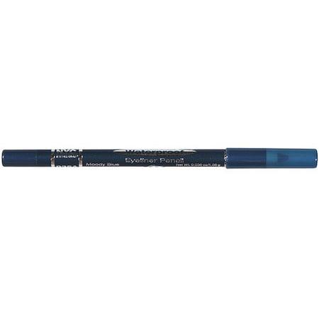 Nyc New York Color Waterproof Eyeliner Pencil  935A Moody Blue  0 036 Oz