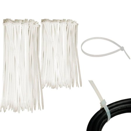 Clear Nylon Tie End (100 Pc Cable Zip Ties 6