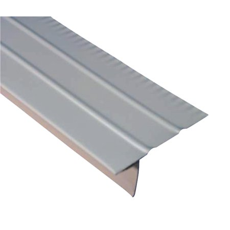 Amerimax aluminum f style overhanging roof drip edge for Roof diverter flashing