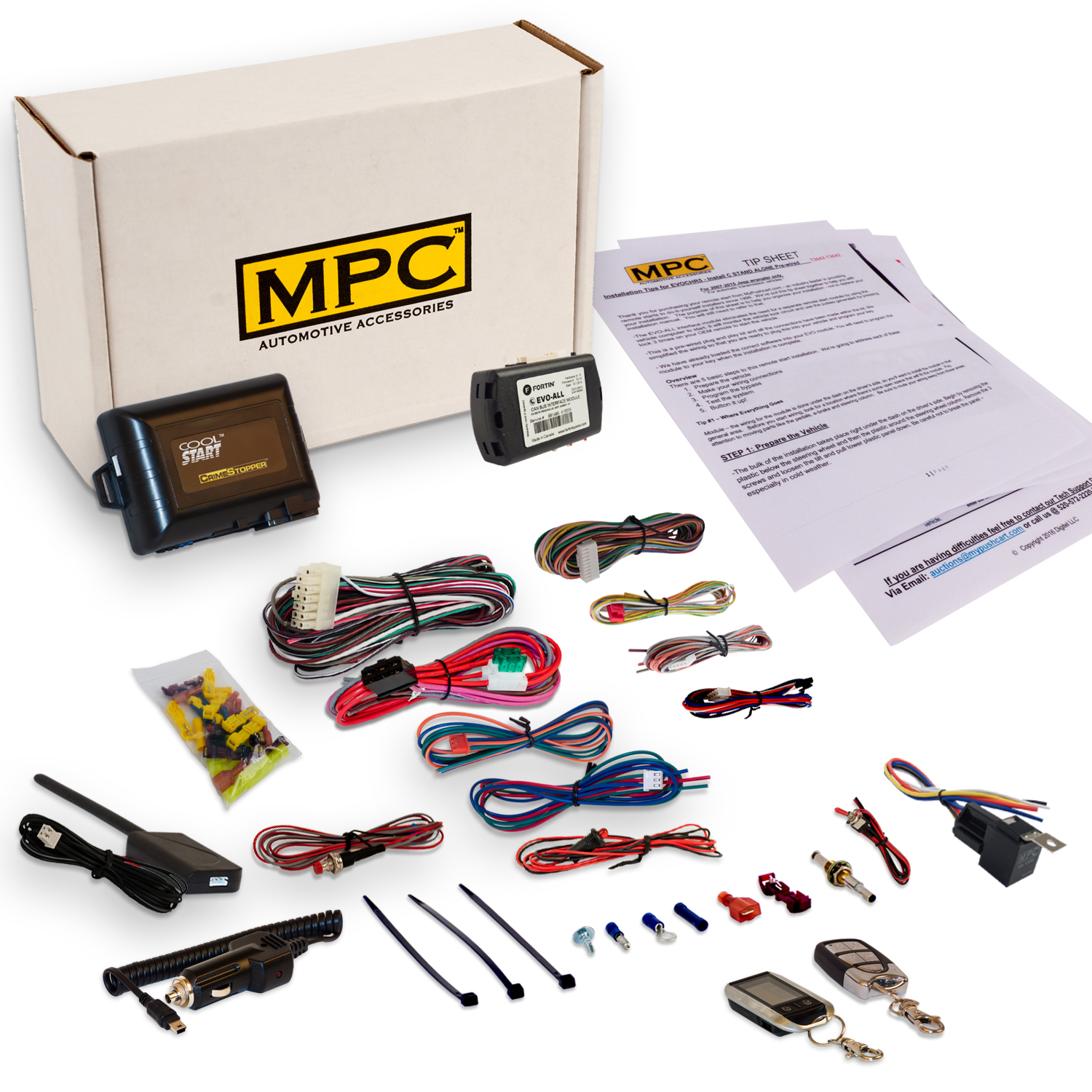 MPC Complete 2-Way LCD Remote Start/Entry For 2010-2011 T...
