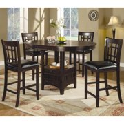 A Line Furniture Quince Counter Height Espresso Dining Set