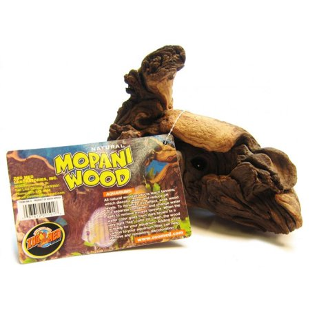 Zoo Med Laboratories Inc-Natural Mopani Wood For Aquariums 6-8 In/small