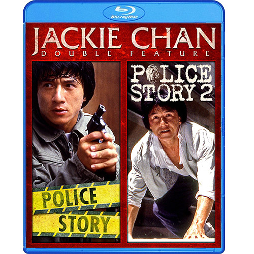 Jackie Chan Double Feature: Police Story / Police Story 2 (Blu-ray) (Widescreen)