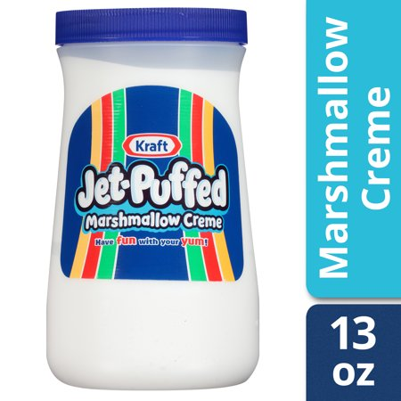 Caramel Covered Marshmallows ((4 Pack) Kraft Jet-Puffed Marshmallow Creme, 13 oz)