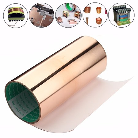 20cm x 1m 1 Roll Single Conductive Copper Foil Tape Shielding Self Adhesive