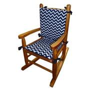 Baby Doll Bedding Minky Rocking Chair Cushion