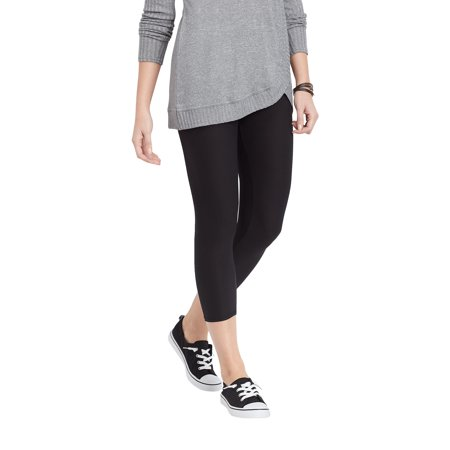 Maurices Women's Black Crop Legging - Ultra Soft High Rise
