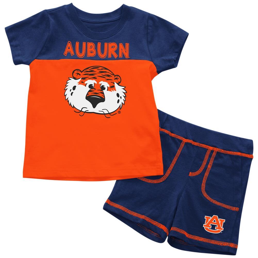 Auburn University Tigers Infant T-Shirt and Shorts Boy's 2-Pc Set