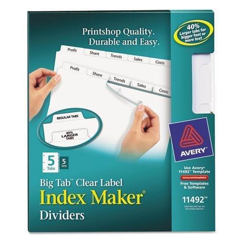 avery label 6 per sheet