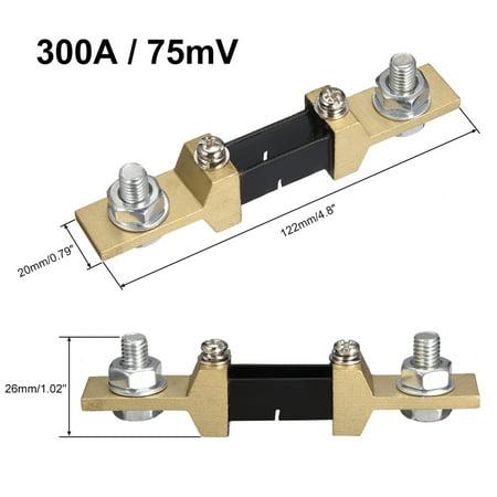 DC 300A 75mV Electrical Shunt Resistor for Ammeter Current Ampere Shunt - image 1 de 3