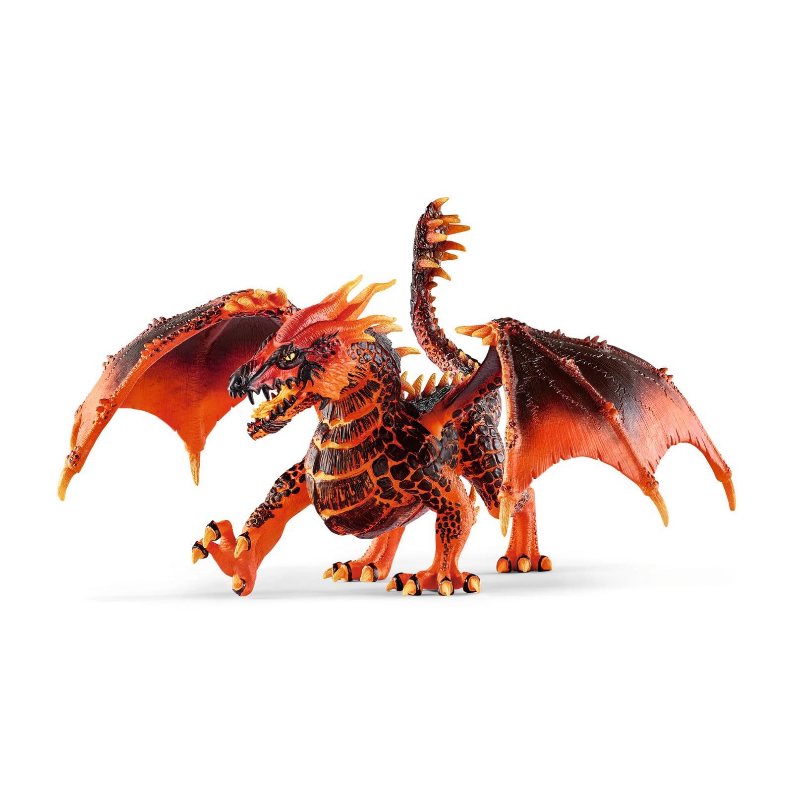 Schleich, Eldrador Creatures, Lava Dragon Toy Figurine