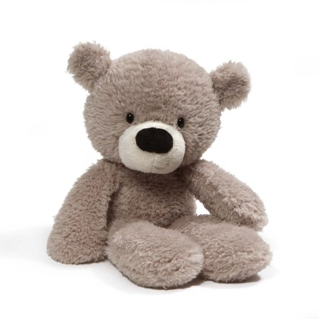 Gund Fuzzy Teddy Bear Stuffed Animal Plush Toy, Gray