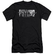 Psycho Logo Cutout Mens Slim Fit Shirt