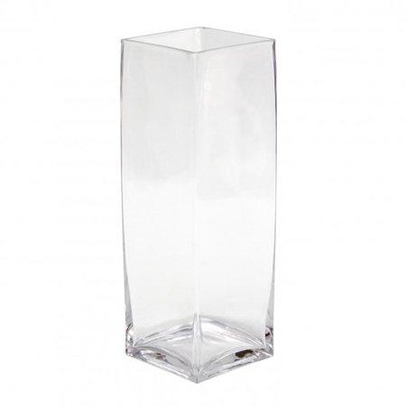 Koyal Wholesale Tall Square Glass Vase Set Of 12 Walmart