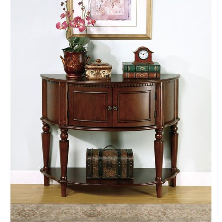Curved End Console - Coaster Company Demilune Console Table