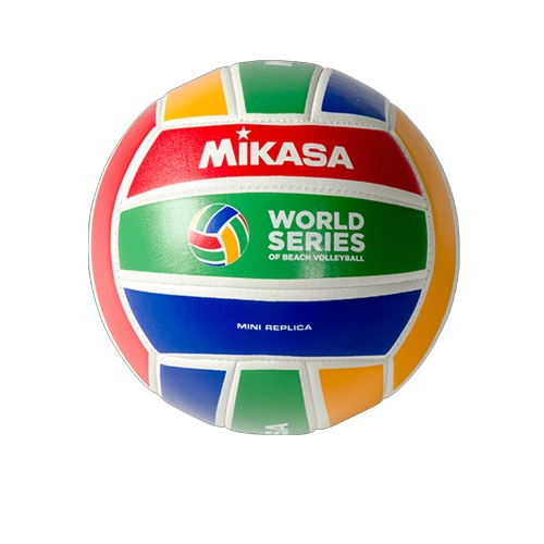 Mini Beach Volleyball by Mikasa Sports, Size 5 Official - WS1.5