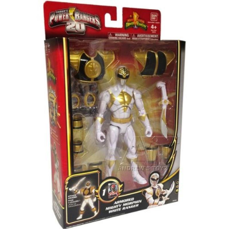 Power Rangers Megaforce Armored Mighty Morphin White Ranger by Bandai America Inc.