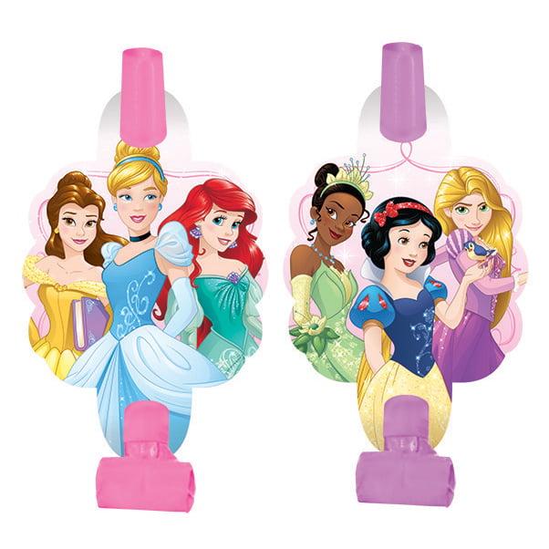 "Disney Princess 5"" Blowouts (8 Pack) - Party Supplies"