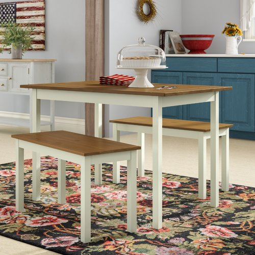 August Grove Dwyer 3 Piece Dining Set