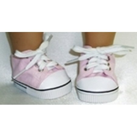 Doll Clothes Superstore Baby Doll Pink High Top Sneaker