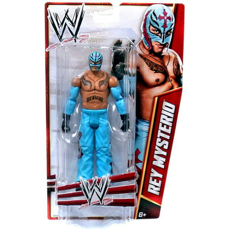 WWE Wrestling Signature Series 2012 Rey Mysterio Action Figure for $<!---->