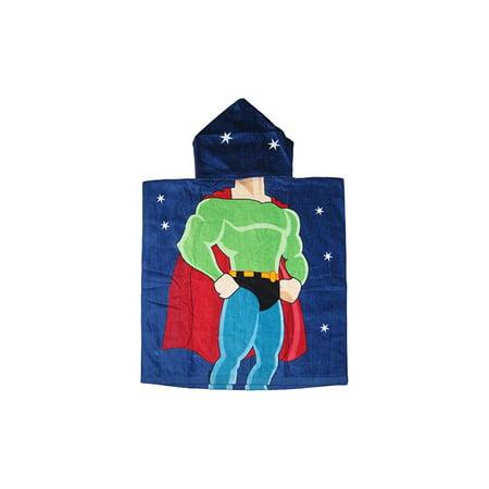 Bath Towels Kids Super Hero Hooded Bath Towel - Hooded Superheroes