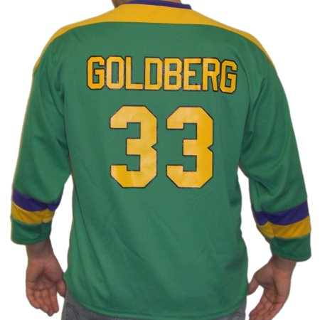Greg Goldberg #33 Mighty Ducks Movie Hockey Jersey Goalie 90s Costume Uniform](90s Halloween Ideas)