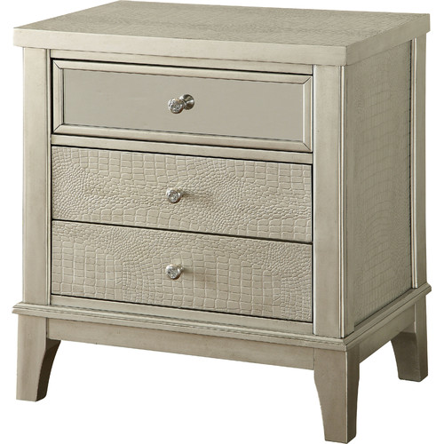 Hokku Designs Amari 3 Drawer Nightstand