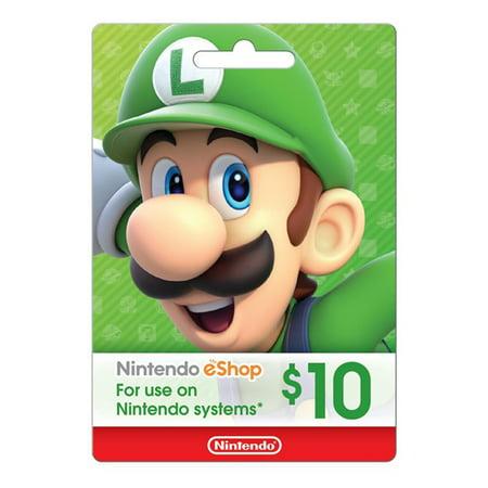 Nintendo eShop $10 (Top 10 Best Nintendo Characters)