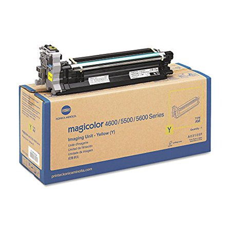 Konica Minolta MAGICOLOR 5670EN Yellow Original Drum Unit (30,000 Yield)
