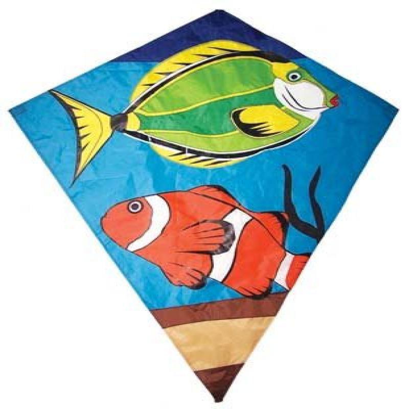 "12233 Tropical Fish Diamond 40"""