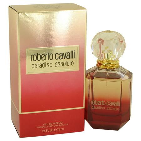 Roberto Cavalli Paradiso Assoluto by Roberto Cavalli -Eau De Parfum Spray 2.5 oz (Cavalli Sonnenbrillen Herren)