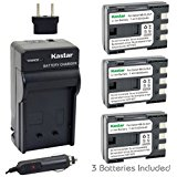 Kastar Battery (3_Pack) and Charger Kit for Canon NB_2L N...