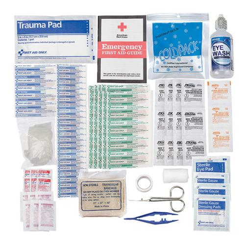 AMERICAN RED CROSS First Aid Kit Refill, Bulk, 106Pcs, 25 Ppl 711023-GR