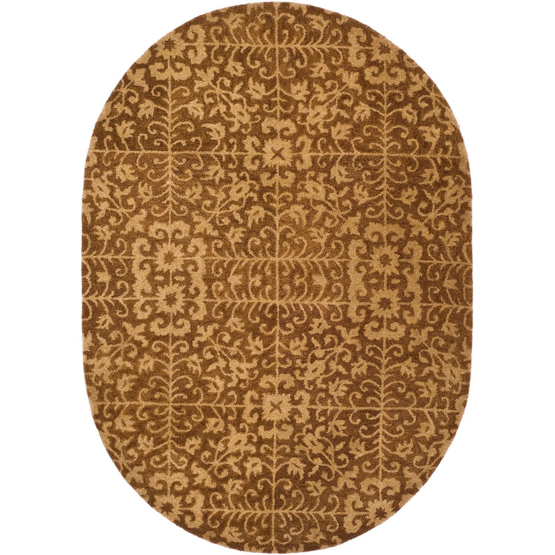 Safavieh Antiquity Richard Hand-Tufted Wool Area Rug, Gold/Beige