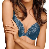 Maidenform Womens Comfort Devotion Plunge Push-Up Bra Style-9443