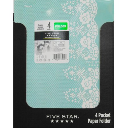 Five Star Style Antique Chic Paper Folder