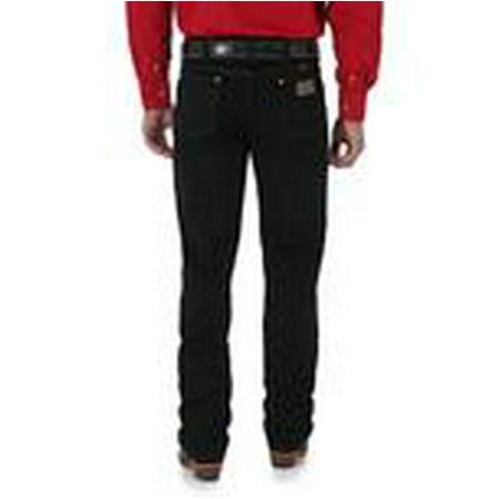 Wrangler Mens 0936WBK Original Cowboy Cut Slim Fit Jean - Shadow Black