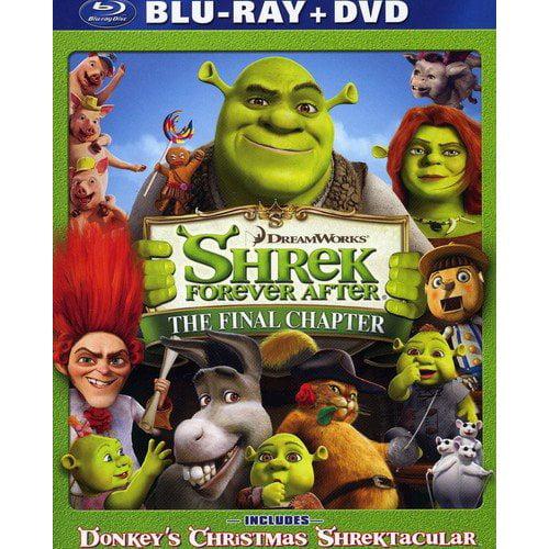 Shrek Forever After / Donkey's Christmas Shrektakular (Blu-ray + Standard DVD) (Widescreen)