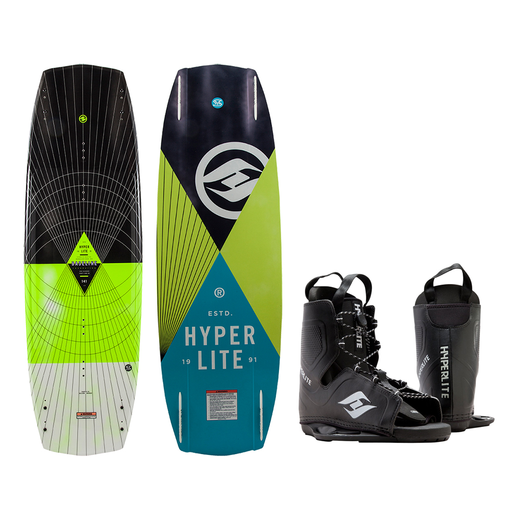 HYPERLITE BASELINE WAKEBOARD 136 CM WITH FREQUENCY BOOT by