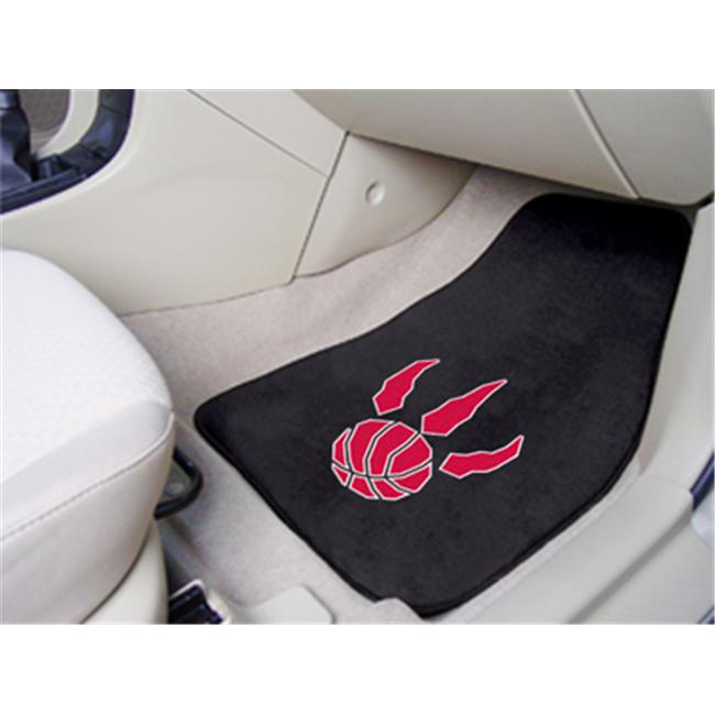 FANMATS 9421 National Basketball Association Toronto Raptors 2-piece Carpeted Cat Mats 18 in. x 27 in.
