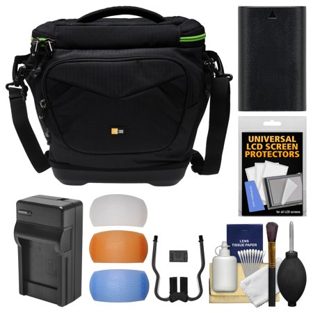 Buy Case Logic Kontrast KDM-102 DSLR Camera Shoulder Bag with LP-E6 Battery & Charger + Kit for Canon EOS 6D, 70D, 7D, 5D Mark II III Before Too Late